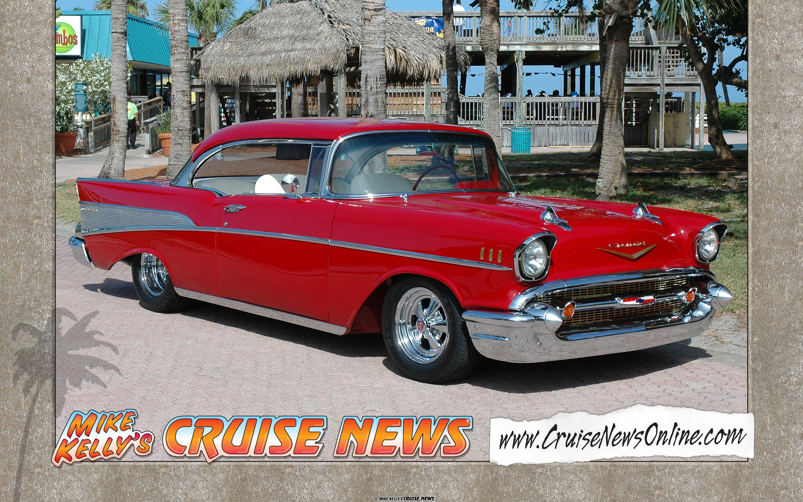 Special Items Mike Kellys Cruise News 1957 Chevy Impala Convertible Bel Air Wallpaper 2560x1600 Widescreen