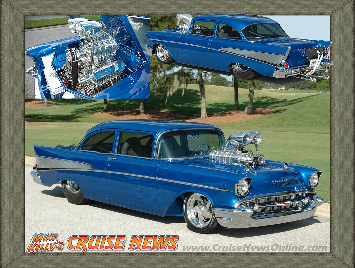 blown 57 chevy