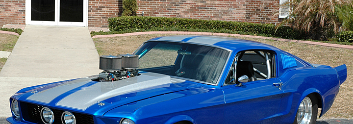 Chris Harbin's 1968 Mustang Fastback
