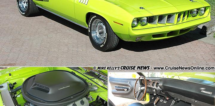 Chris Zieman's 1971 Plymouth Hemi 'Cuda Convertible