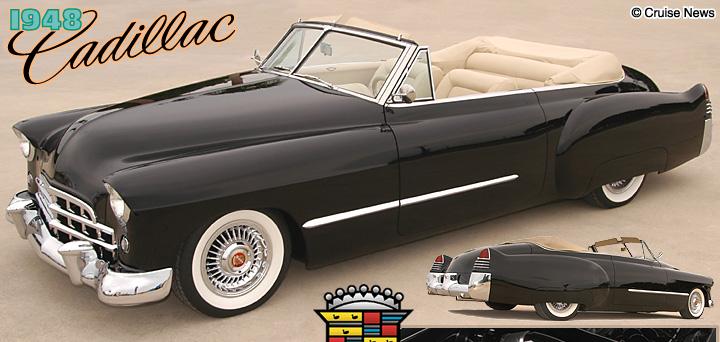 Doug & Debbe Kenny's 1948 Cadillac Convertible