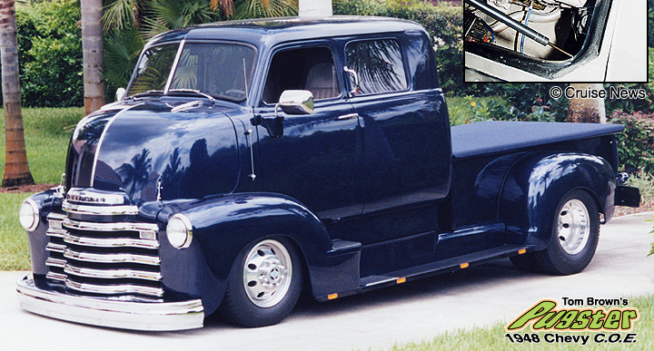 Tom Brown's 1948 Chevy Cab-Over-Engine Pickup (from October 2002)