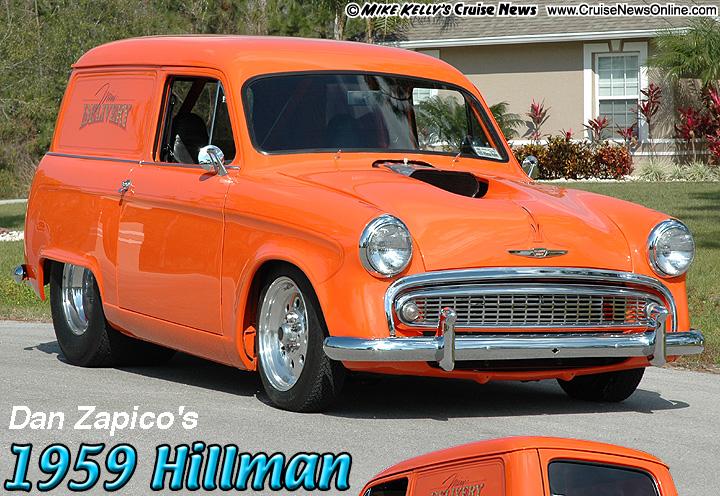 Dan Zapicos 1959 Hillman Husky Sedan Delivery