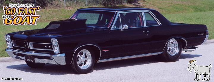 Tony Gonzalezs 1965 Pontiac GTO