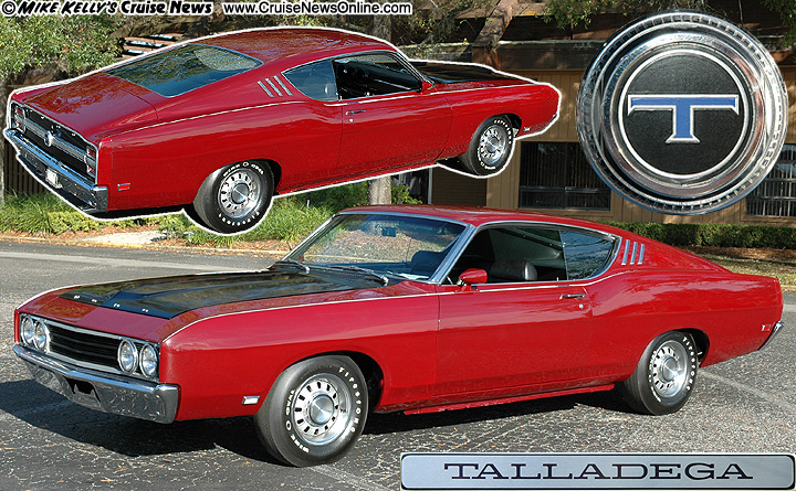 1969 Ford Torino Talladega / #43 Richard.