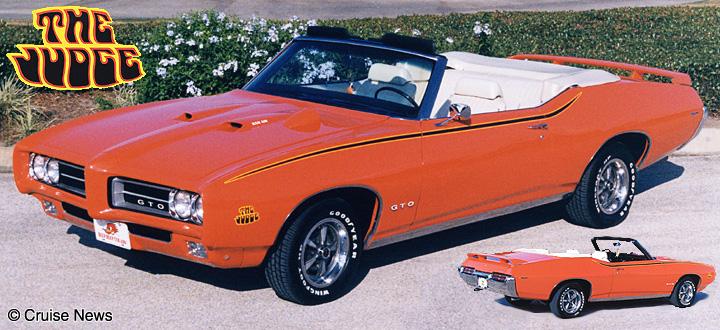 1969 gto judge convertible