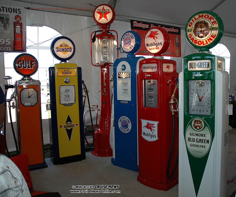 Mecum Kissimmee Auction - Mike Kelly s Cruise NewsOld Gas Station Pump