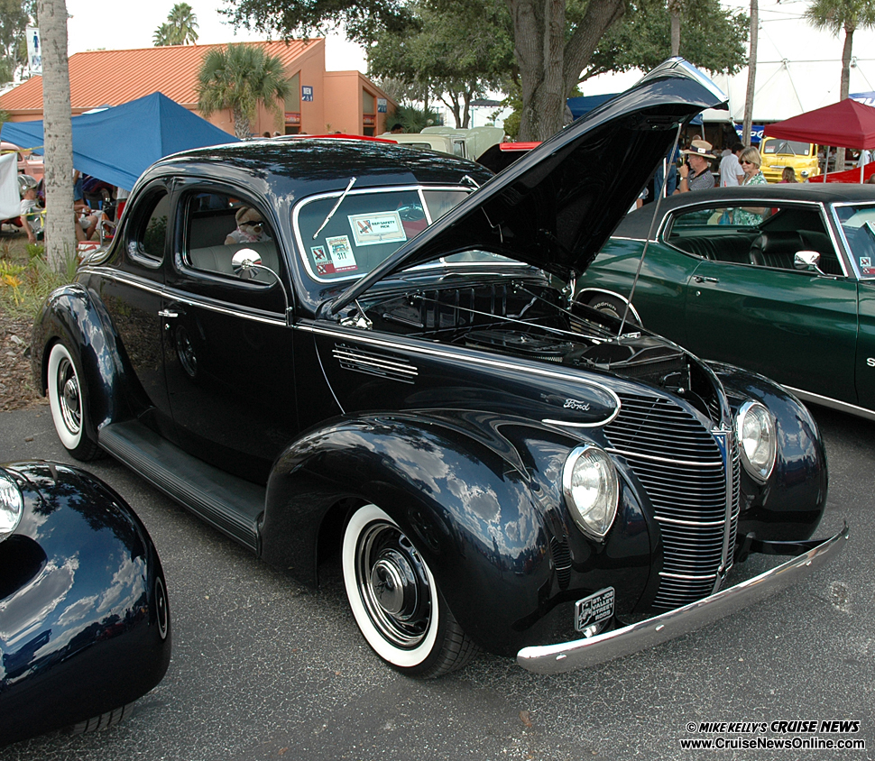 23rd Annual Nsra Southeast Nationals Mike Kellys Cruise News Bmw Sra Wiring Harness A Rep Safety Pick Was Bestowed Upon This 1939 Ford Standard Coupe At The In Tampa Which Belongs To Larry And Nancy Day Out Of Cape